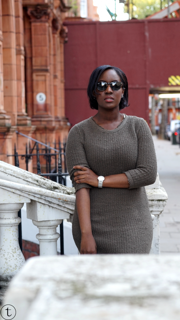 outfit of the day wearing a green zara outfit at sloane square