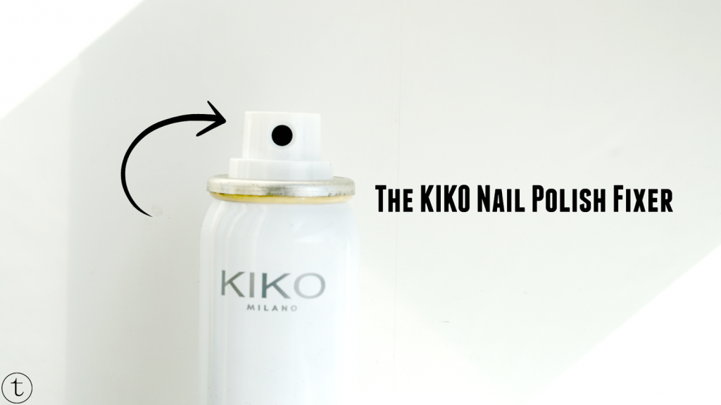 review on the kiko nail polish fixer