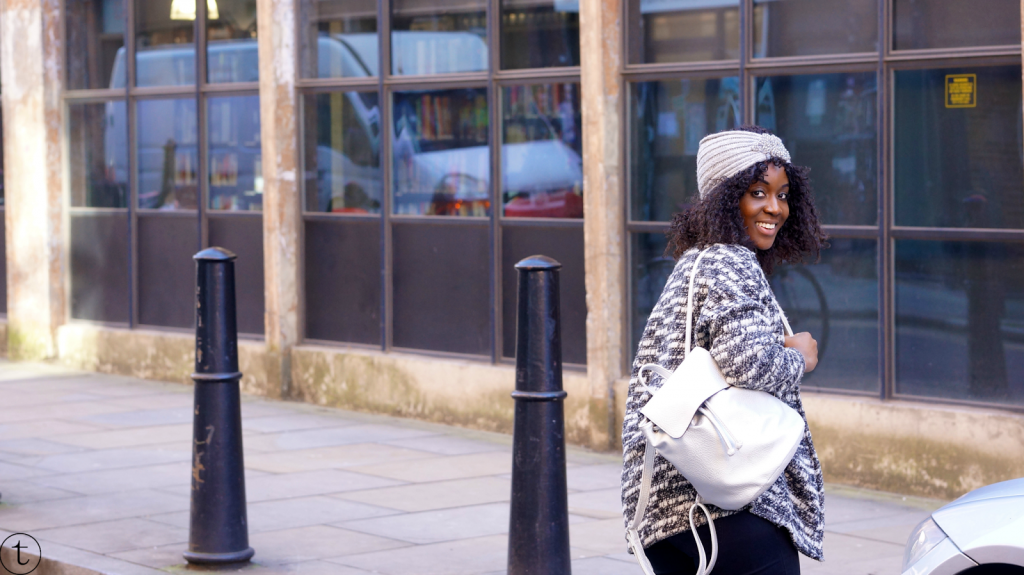 outfit post in east london fashion blogger trudy danso