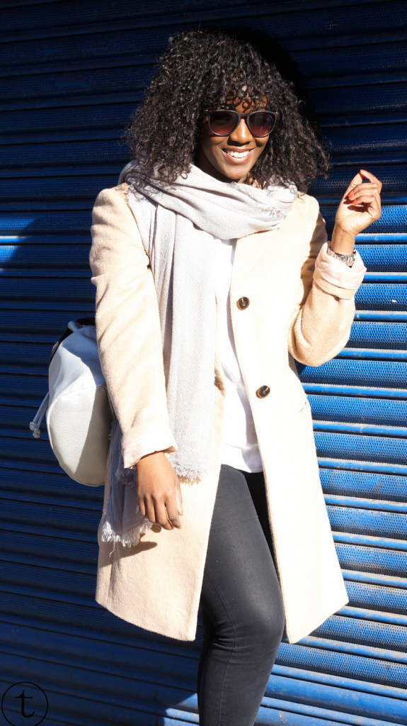 wearing camel coat in shoreditch outfit post trudy danso