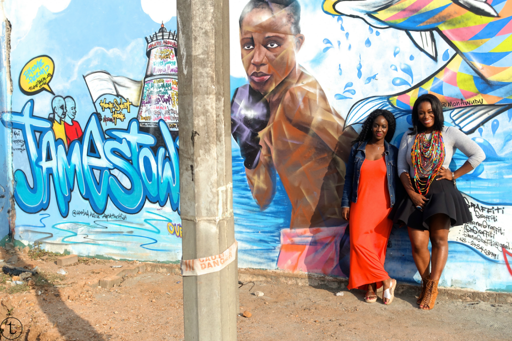 exploring the oldest district in accra ghana chale wote