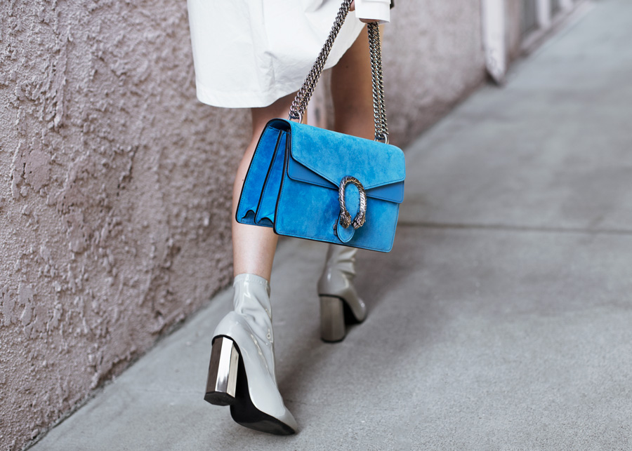 blue dionysus gucci bag streetstyle fashion blogger