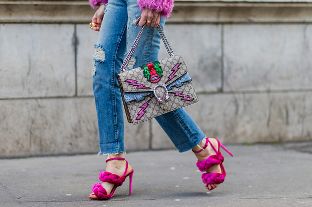 chiara ferragni gucci dionysus bag fashion week