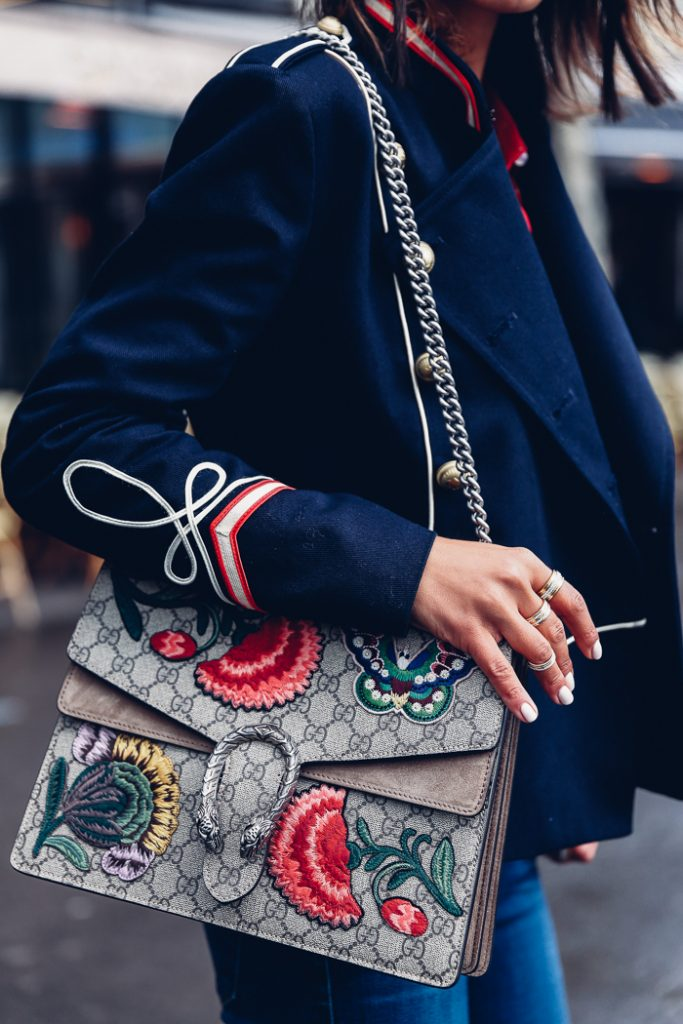 gucci dionysus floral prints bag streetstyle vivaluxury fashion blogger