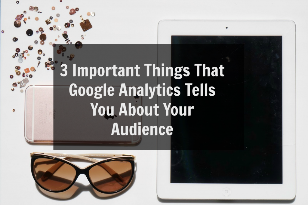 3 Important Things That Google Analytics Tells You About Your Audience