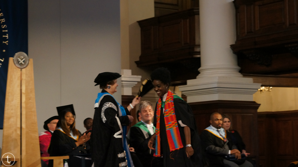 my graduation ceremony at GCU London it's true blog msc international fashion marketing