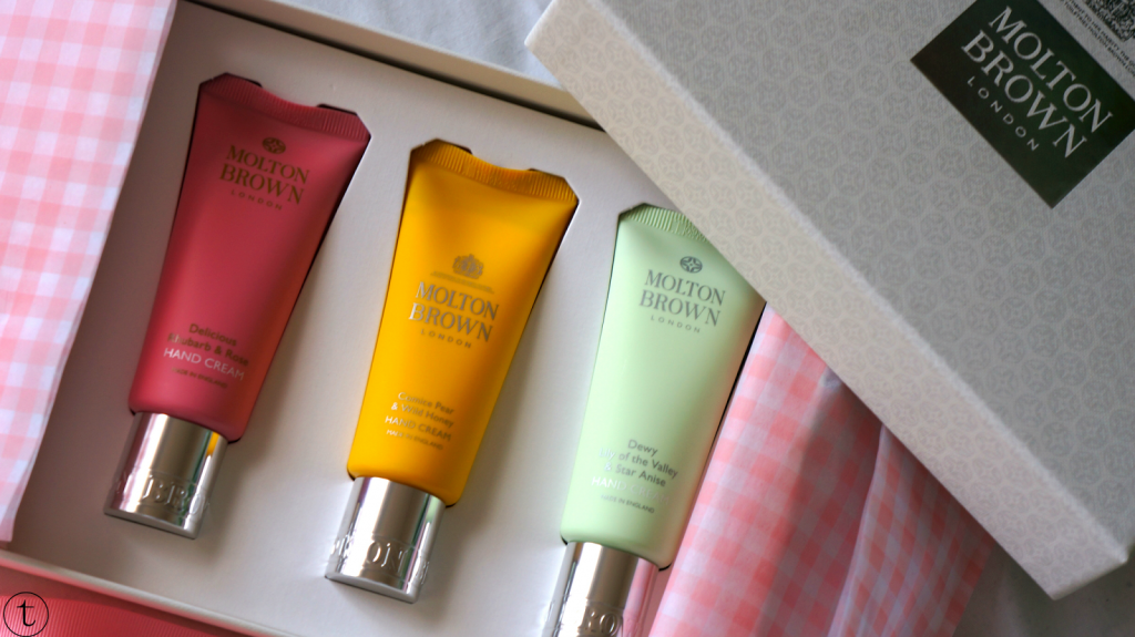 win the molton brown hand cream gift set giveaway