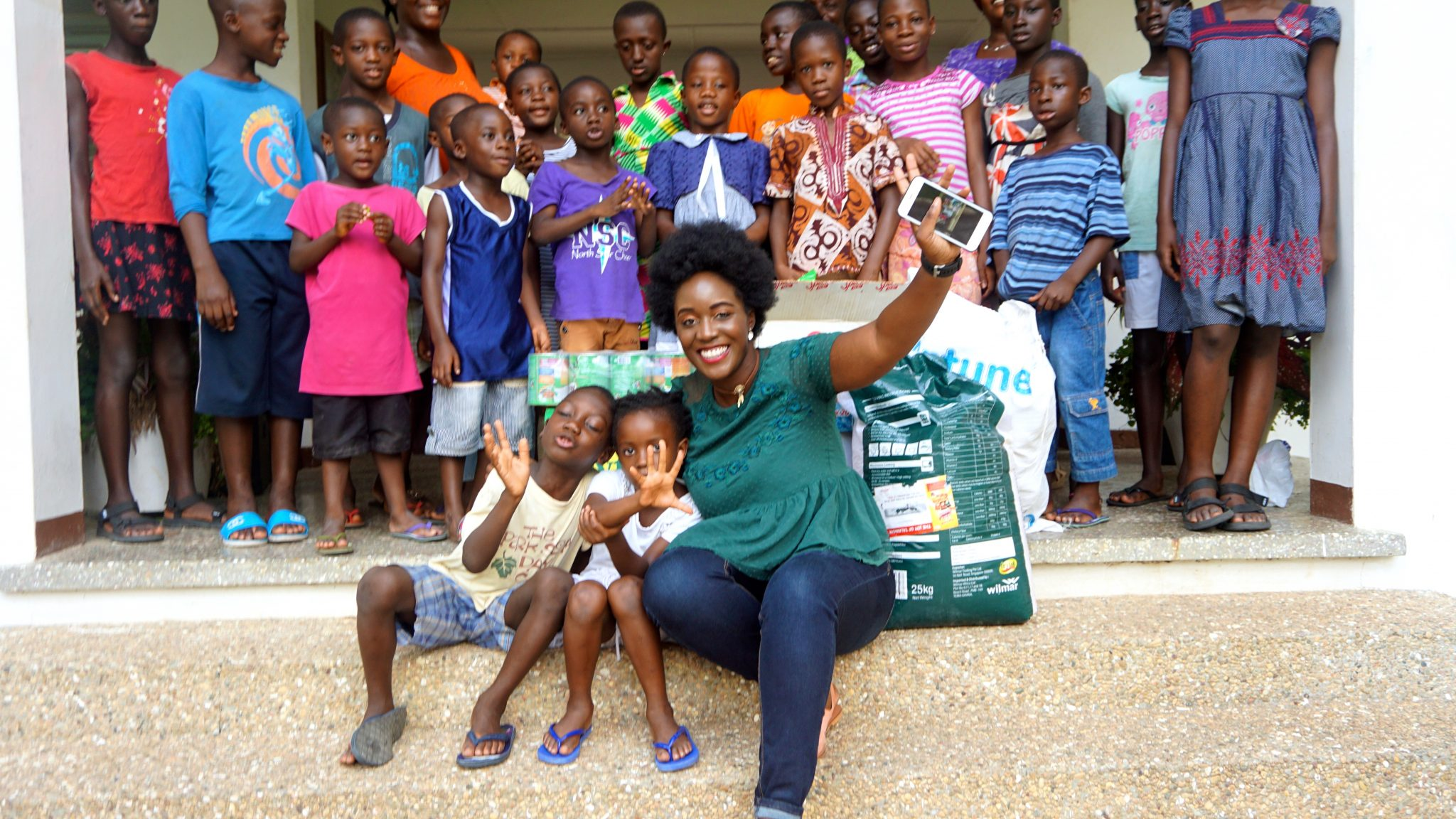 My Visit To The SOS Children's Villages in Ghana